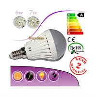 Lamps 6W E14 SMD lamps led light 2Pcs/Lot 220V Corridors Use Energy Efficient,Corn Bulbs E14-2835-20LEDs Lamps 2835 SMD 6w