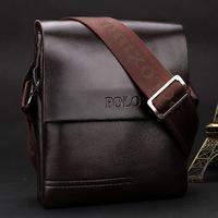 New Arrived POLO Genuine leather men's messenger bag fashion shoulder bag cross body bag business briefcase Free Shipping