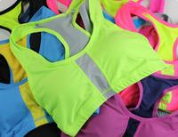 Free shipping Professional sports bra Seamless shockproof running vest new brand ladies sports bra yoga fitness pro bra