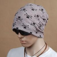 New Cotton Skull turban hat beanie chapeau casquette scarf gorro