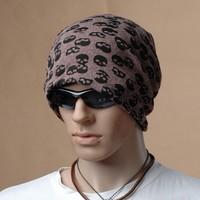 New Skull Turban Hat chapeau casquette cotton comfortable gorro cap
