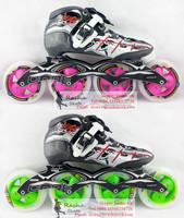 Original powerslide Triple X2 speed skating shoes Professional  adult child roller skates with matter inline skates wheels