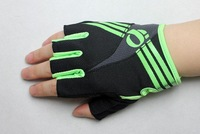 NEW Cycling Gloves Bike Bicycle GEL Half Finger Racing Gloves Blue