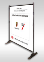 8' x 8' Adjustable Backdrop Stand,Big Screen display stand BST6-9 with fabric banner (Wholesale price)