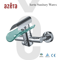 Single Lever Glass Bath Faucet Bath Basin Mixer Tap MK2101B