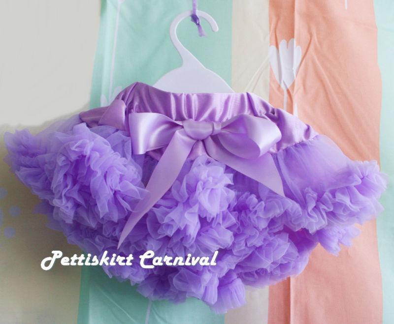Wholesale 1 Lot 10 pc - Newborn Baby Girl Lavender Pettiskirt Pettiskirt Tutu 0-6M(Hong Kong)