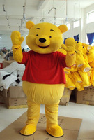 Cute Lovely Bear Mascot Costume Adult Size Cartoon Mascot Animal Apparel Free Shipping