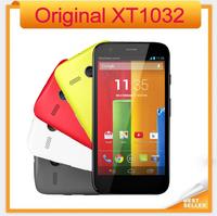 "4.5"" IPS Original XT1032 Motorola Moto G Mobile Phone Quad Core Android 4.3 ROM 8GB/16GB Camera 5MP Motorola G Cellphone"