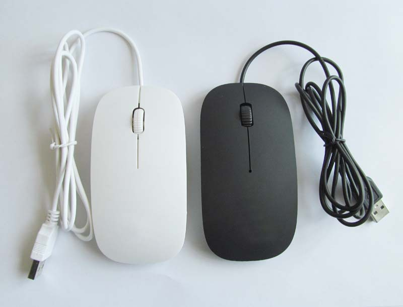 Cheap good quality Wired mouse usb notebook office home mouse gaming mouse black white brand mouse computer accessories(China (Mainland))