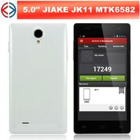 JIAKE JK11 MTK6582 Quad Core 1.3GHz 5.0 Inch QHD Screen Android 4.2 3G Smart Phone 2.0MP/8.0MP Camera 1GB/4GB GPS Bluetooth