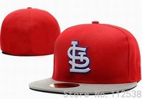 Retail one pc cap St- Louis Cardinals fitted hats baseball caps free shipping SLC200