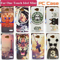 Hard Case For Alcatel One Touch Idol mini 6012X 6012A 6012W 6012D TCL S530T Transparent Side Cover Case