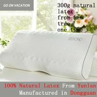 Emulsion Massage Pillows 100% Natural Latex Memory Foam Pillow 60*30CM Slow Rebound Pillow Cervical Health Care Latex Pillow