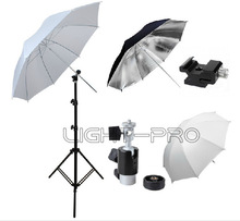 Photo Camera Flash Speedlite Umbrella Kit for NIKON SB-600 SB-900 Canon 430EX 580EX kit