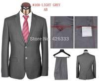 2014 brand Business Suit Men's luxury 2 buttons wedding dress Fashion BLAZERS Vest And Pants Set XXXXL Plus Size Free Shipping