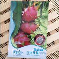 1 original package 30 pieces white dragon fruit seeds DIY home graden, pitaya seeds fruiting