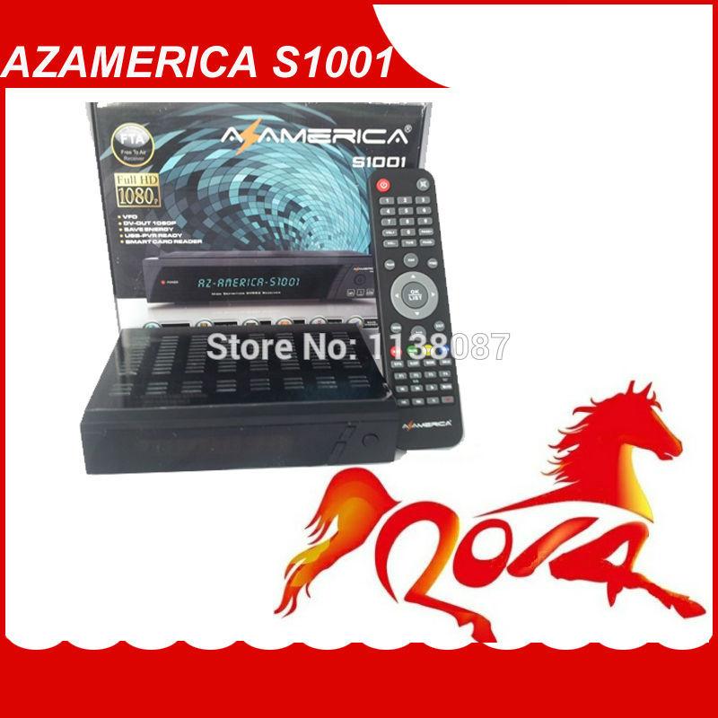 2014 marke neue heiße verkauf satelliten azamerica s1001 hd-receiver für Südamerika versandkostenfrei