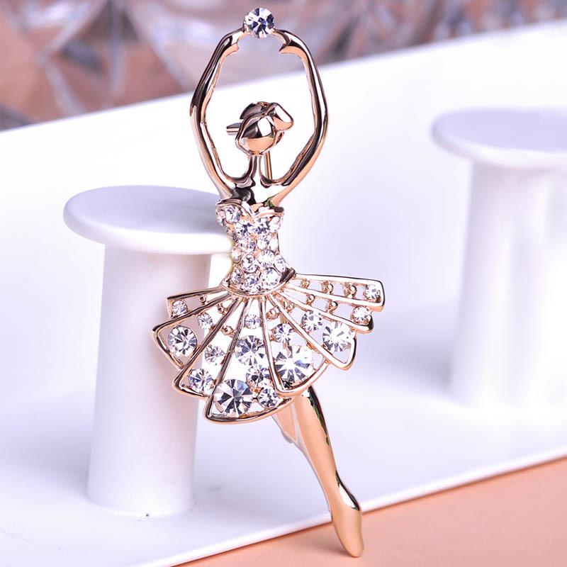 بروشات رقيقة Ballet-Dancer-Baller