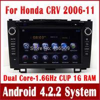 "8"" Android 4.2 Car DVD Player for Honda CRV CR-V 2006-2011 with GPS Navigation Radio TV BT USB AUX DVR 3G WIFI 1.6G CPU+1G RAM"