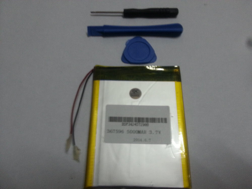 Планшетная батарея  Li-ion battery 3.7V, 5000mAH /tablet pc 7/8 9 [367596 3 7v 5500mah li ion polymer lithiumion battery for 7 8 9 inch tablet pc icoo d70pro ii onda sanei 4 5 79 97mm free shipping