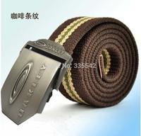 Men's Western Sports canvas Belt Outdoor Fashion Tactical Webbing Belt Free Shipping Hot sales Military Belt Men's