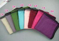 2014 new design women plain fashion printe solid color shawls lace+viscose long wrap hijab muslim head scarves/scarf 10pcs/lot