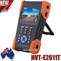"3.5"" TFT-LCD Security CCTV Tester Pro For Australia With TDR Tester Optical Power Meter PTZ Control UTP Cable Test IP Scan  A11T"