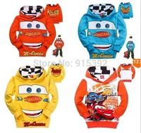 Retail 1pcs 100% cotton spring and autumn Cartoon  hoodies kids baby clothing sweatshirts in stock