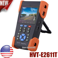 "3.5"" TFT-LCD Security CCTV Tester Pro For USA With TDR Tester Optical Power Meter PTZ Control UTP Cable Test IP Scan Hot U11T"