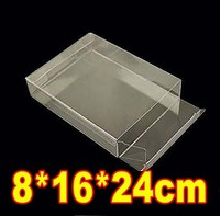 8*16*24cm PVC Transparent Clear Jewelry Gift Car Model Packaging Boxes Display  Case
