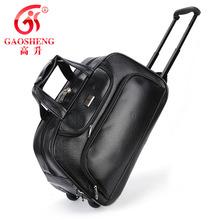 wholesale leather luggage