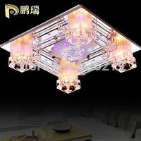 Modern fashion crystal lamp lighting Romantic bedroom ceiling lamp living room lamp
