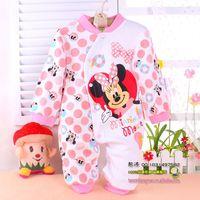 newborn baby rompers children clothing 100% cotton cartoon baby romper cute romper baby body suit Cartoon long sleeve