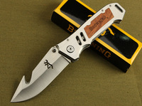 Browning Extreme Survival Folding Knife 5Cr13 Blade Pocket knife 56HRC Best Gift