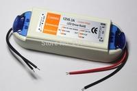 12V 6.3A 72W Power Supply AC/DC adaptor transformer led driver for LED Strip RGB ceiling Light bulb +1pc +Free ship