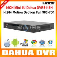 Dahua DVR5116H 16ch cctv dvr All Channel 960H/D1 Mini 1U Standalone cctv dvr realtime for surveillance system