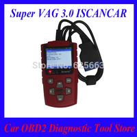 Super VAG 3.0 ISCANCAR VAG KM IMMO OBD2 Code Scanner adjust mileage read immobilizer code Best Tool for VAG