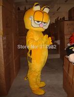 HOT Custom Products Plush Cartoon Character Costume mascot Garfield super lovely