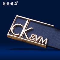 Korean leisure new pattern fashion women/men waist belts hot sale cheap lady/gentlemen brand straps design alloy unisex belts