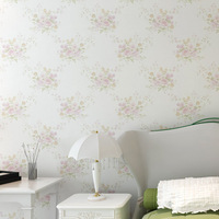 Free Shipping Warmth Living room wallpaper, Bed room wallpapers,Non-Woven yarn wall paper Flower printed