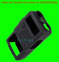 Black Rubber Soft Handheld Case Holster for Radio BAOFENG BF UV-5R UV5R UV-5RA UV-5RB UV-5RC UV-5RD UV-5RE UV-985 TH-F8 J62YJ
