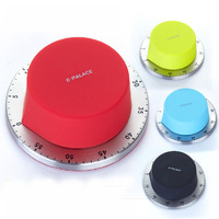 Free shipping electronic 2014 new arrival kitchen timer reminder stainless steel magnet minute timer clocks wholesale and retail