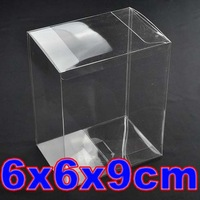 2014 11.11 big promotion PVC Transparent Clear Gift Underwear Display Packaging Boxes Storage Case