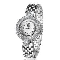 Rose Gold Wristwatch Fashion Quartz Women Dress Watch Free Shipping