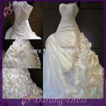 wholesale beaded wedding dress