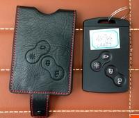 Free shipping for 2014 Renault Koleos car key case wear-resisting eco genuine leather key holder 2009-2013 Koleos car key case