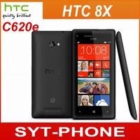 Original HTC 8X C620e Unlocked  Mobile Phone 4.3'' Touch Screen 1280x720 GPS WIFI 16GB Windows Phone Free Shipping