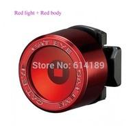 Free Shipping Cateye SL-LD130 Red Light LED Bike Taillight Warning Lamp (2 x CR2032)-Red Body