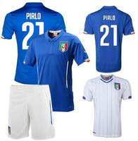 2014 spring, summer, autumn training suit Italy Italian football jersey football clothes Suit soccer training