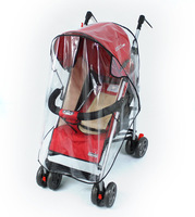Special breathable baby stroller rain cover / baby car windscreen / dust cover for stroller rain cover